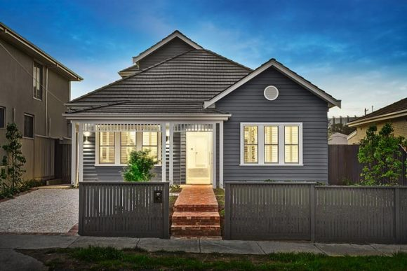 Moonee Ponds, A new home build